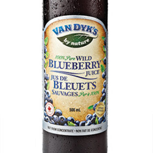 Van Dyk's Wild Blueberry Juice, 500mL